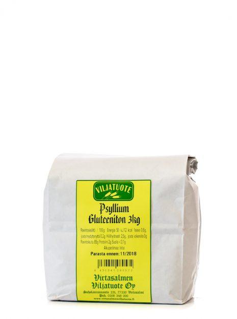 Gluteeniton Psyllium 3 kg