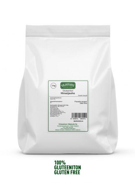 gluten-free millet flour 3 kg