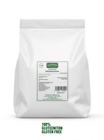 Gluten-free millet groats
