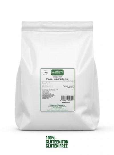 Gluten-free white rice