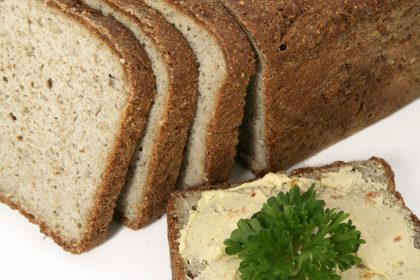 gluten-free broad bean loaf bread