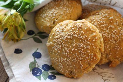 Gluten-free hamburger buns
