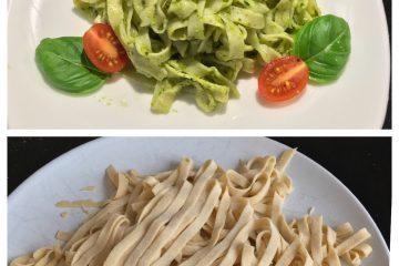 Gluten-free fresh pasta