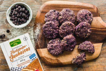 Gluten-free Blueberry Pie Snack Cookies