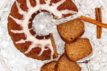 Gluten-free sour milk cake