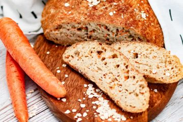 Gluten-free carrot dutch oven bread