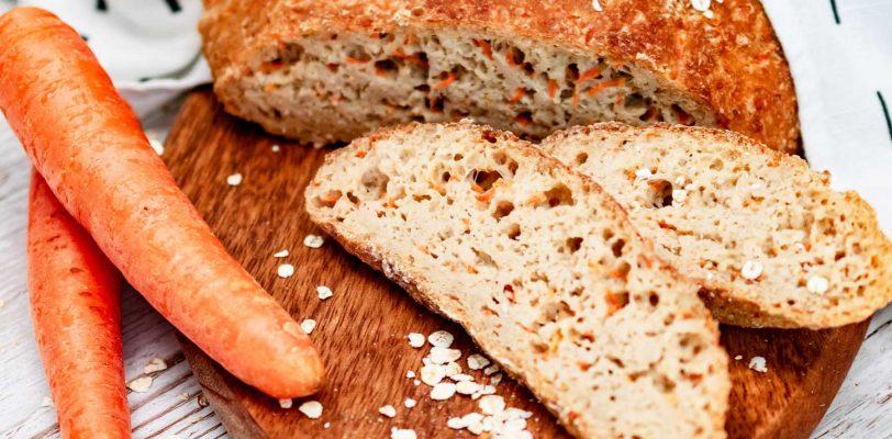 Gluten-free carrot dutch oven bread