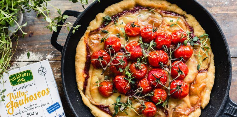 Gluten-free pan pizza