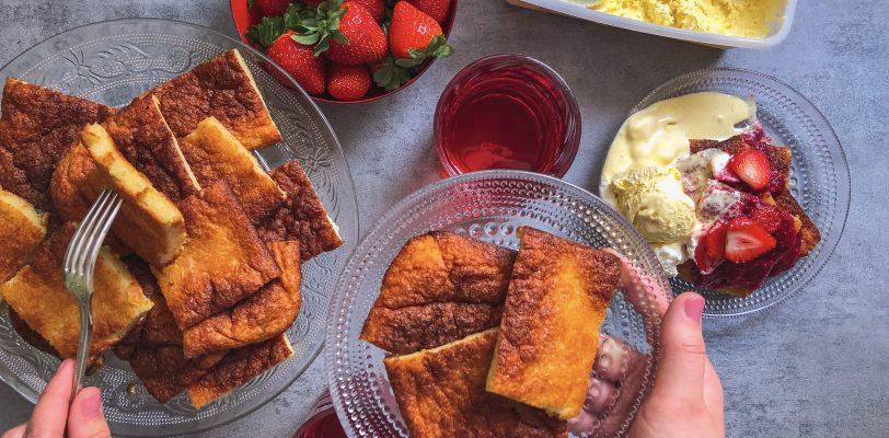 Gluten-free Finnish pancake
