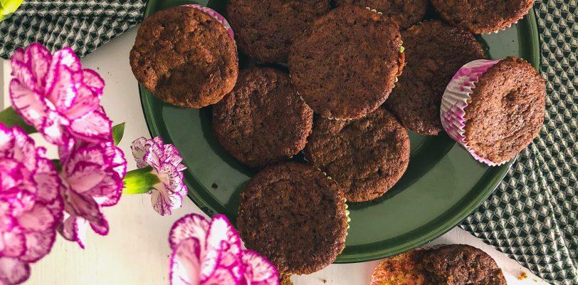 Gluten-free spicy banana muffins