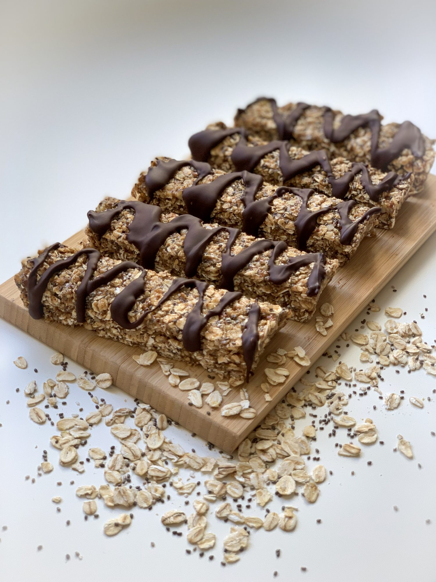 Gluten-free Chocolate Tahini Bars