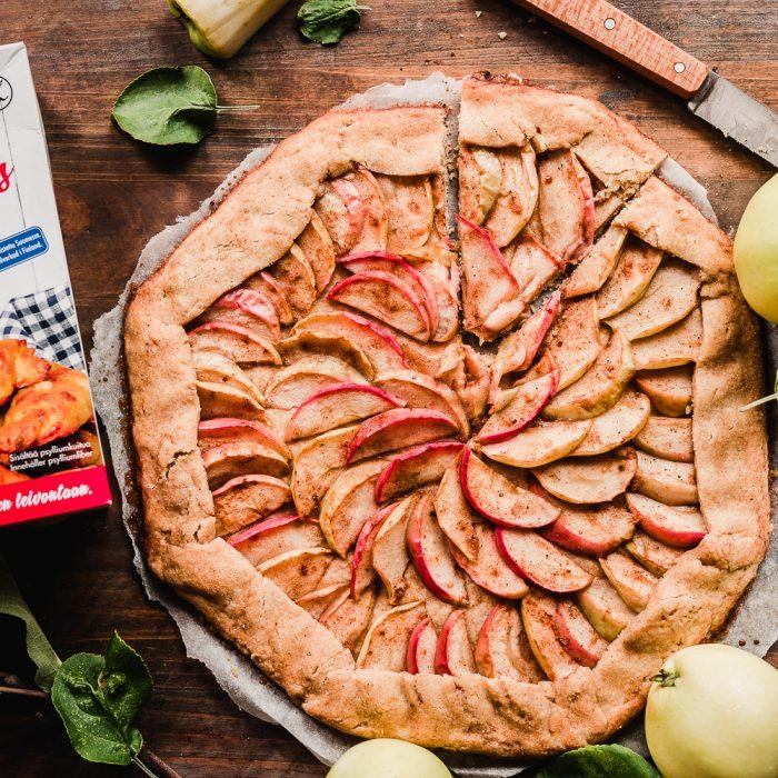 Gluten-free apple galette