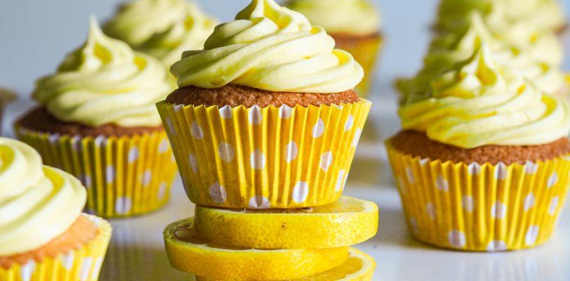 Gluten-free lemon muffins