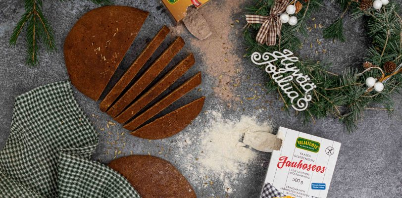 Gluten-free Christmas bread