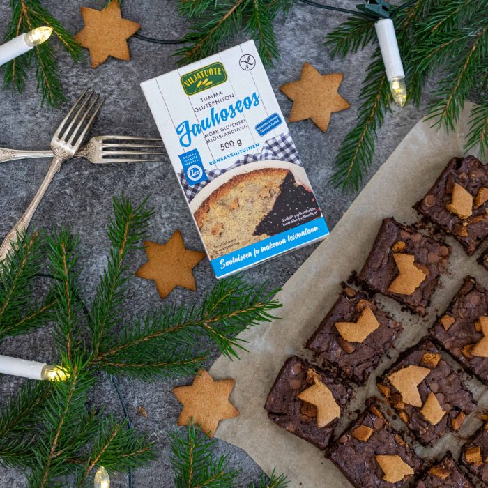 Gluten-free gingerbread brownies