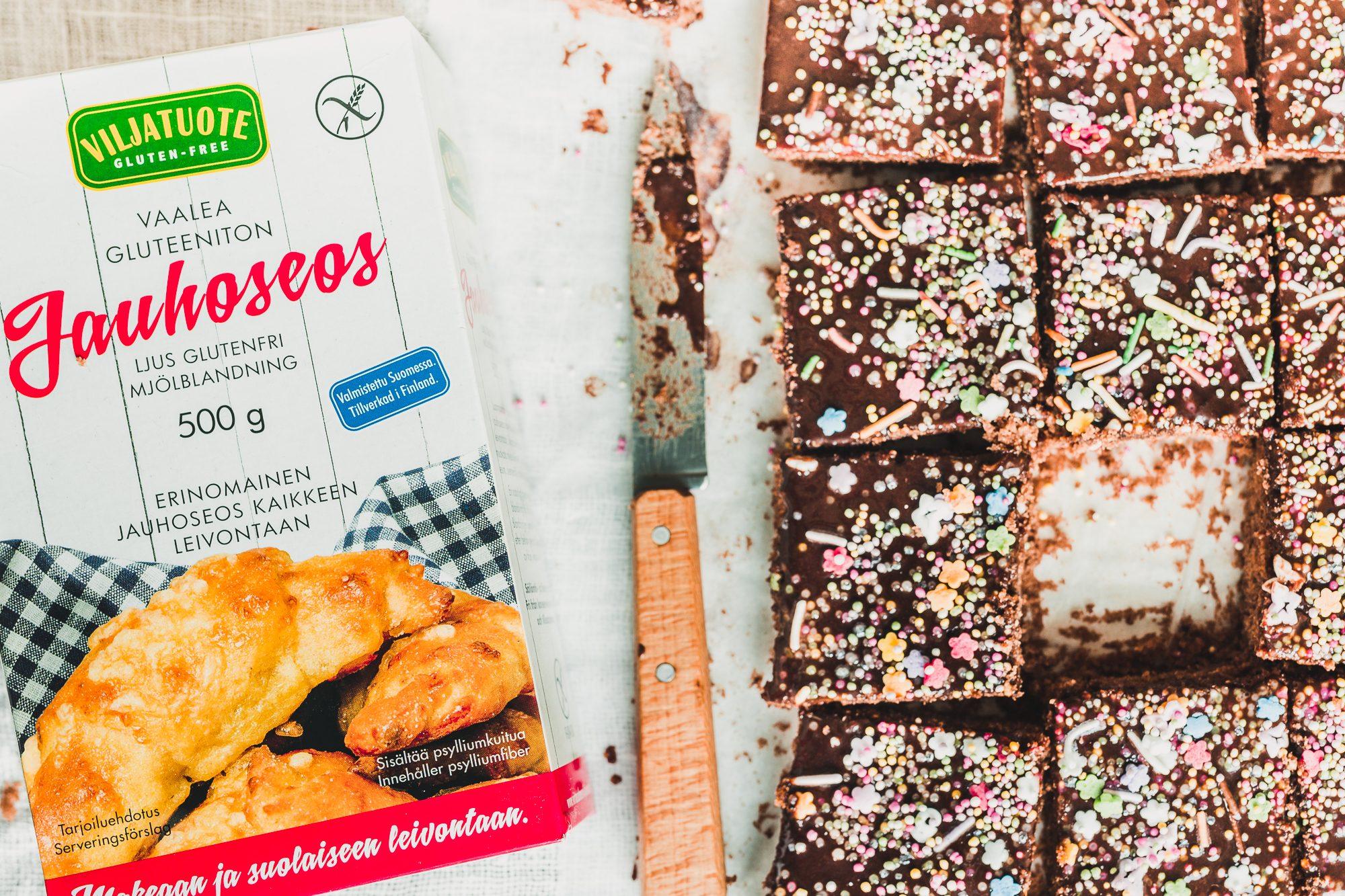 Guten-free vegan mocha cake