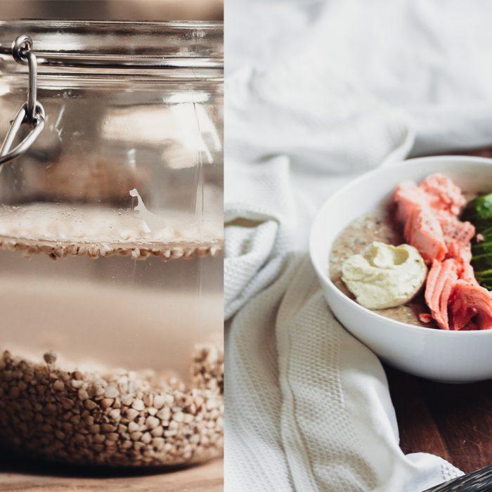 Gluten-free savory porridge