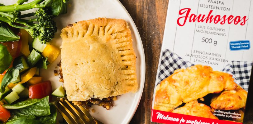 "Gluten-free vegan ""meat"" pie"
