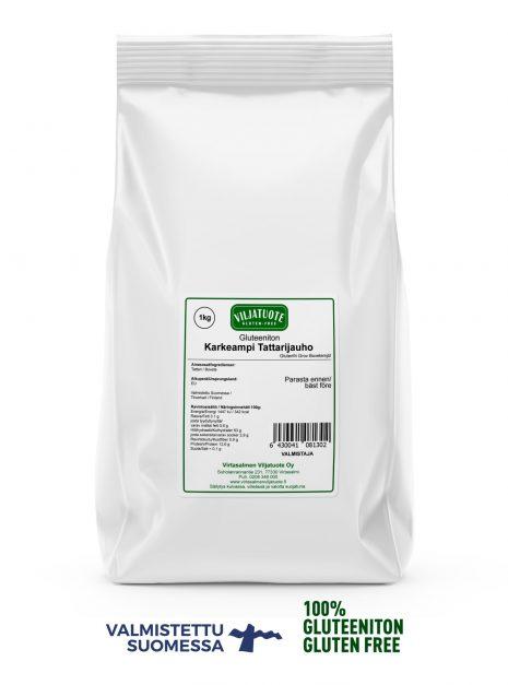 gluten-free coarse buckwheat flour