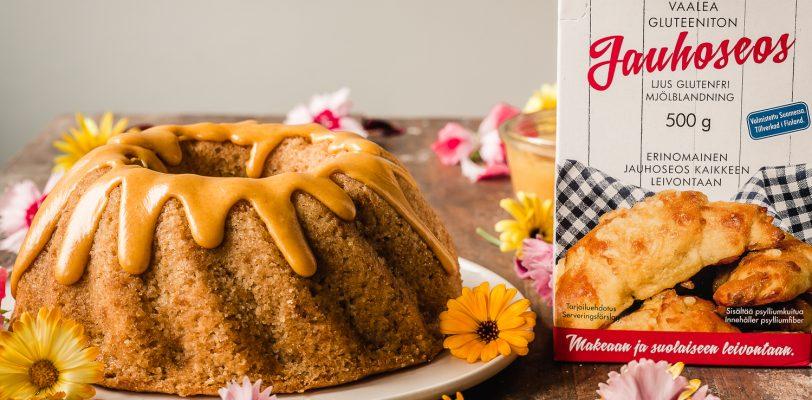 Gluten-free lemon bundt cake