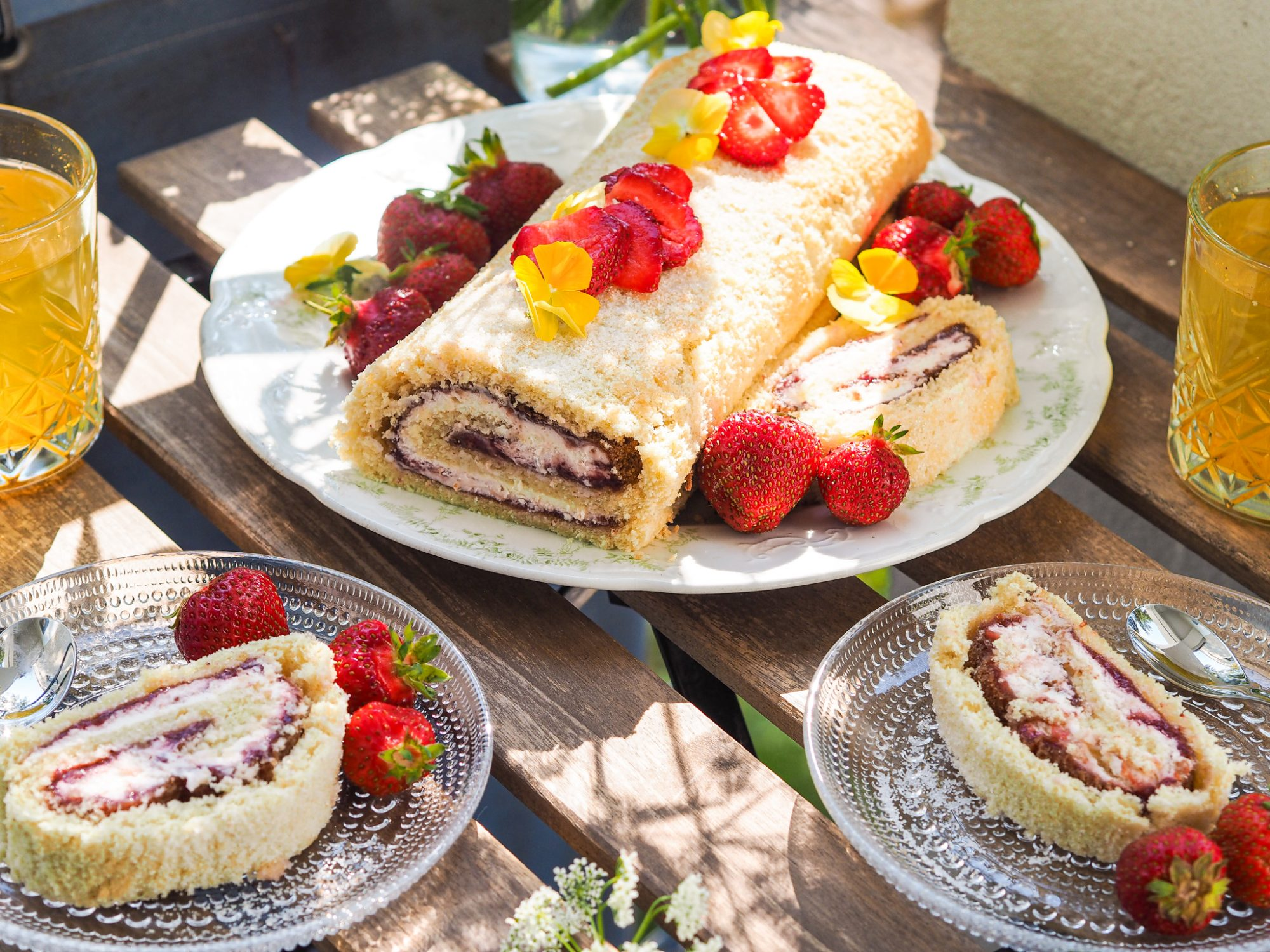 Gluten-free swiss roll