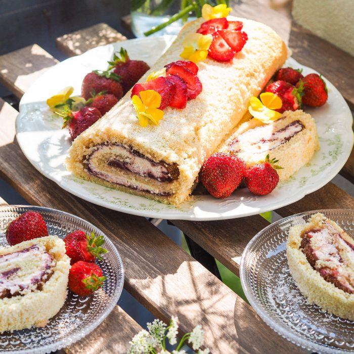 Gluten-free swiss roll