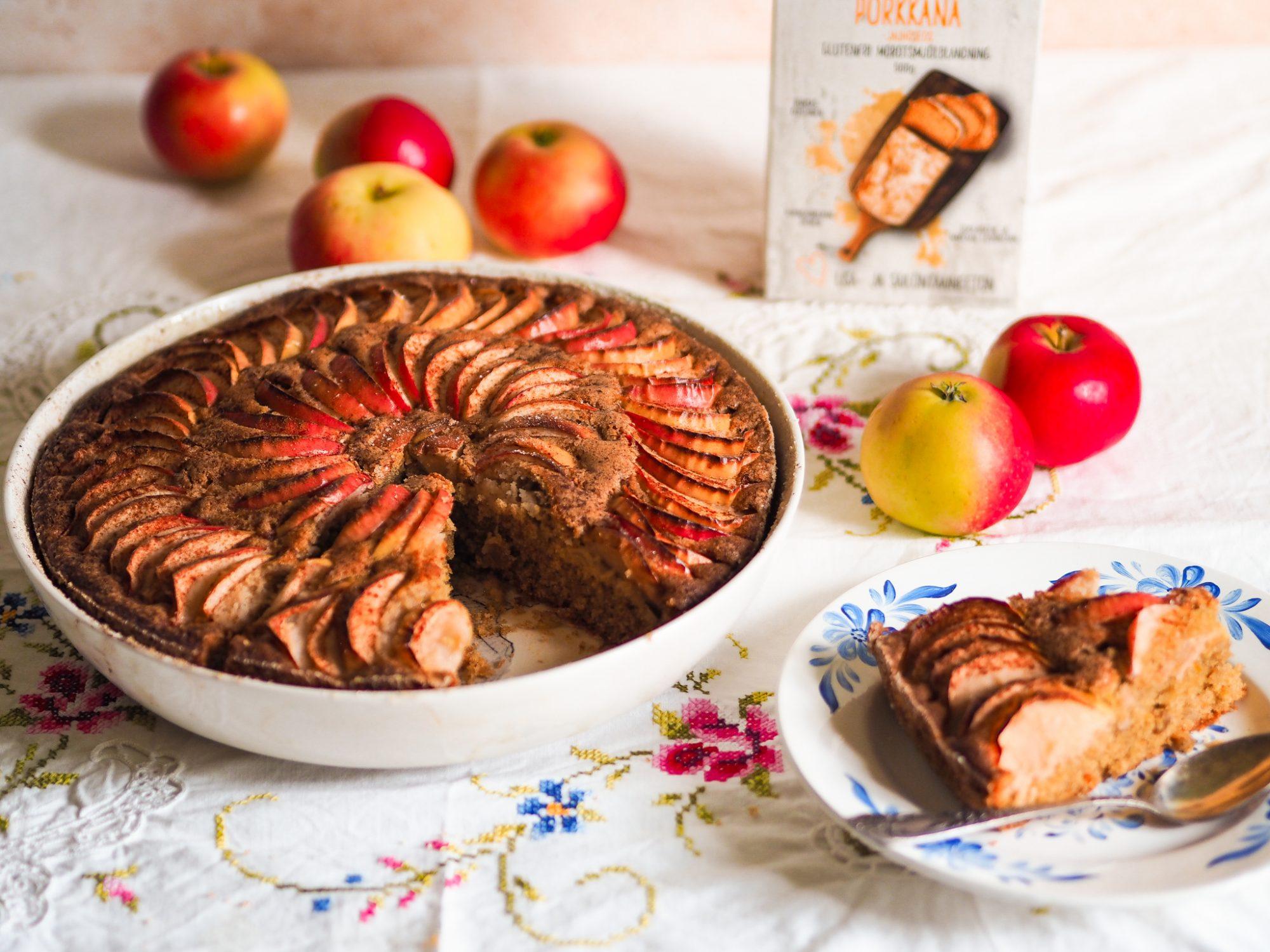 Gluten-free rustic apple pie