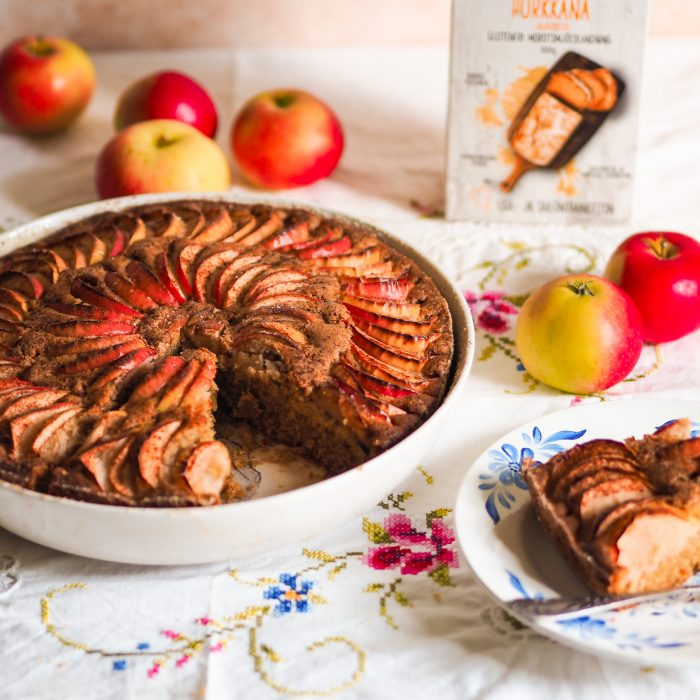 Gluten-free rustic apple pie