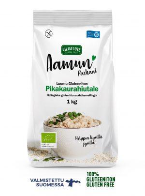 organic gluten-free quick oat flakes 1 kg