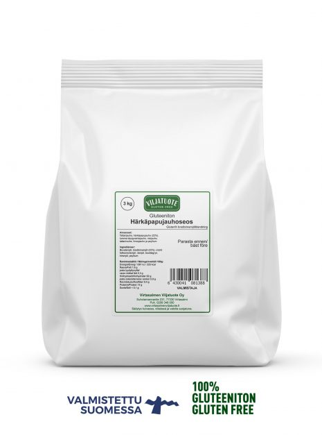 gluten-free broad bean flour mix 3 kg