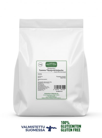 gluten-free brown rice flour 3 kg