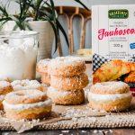 Gluten-free vegan pineapple coconut donuts