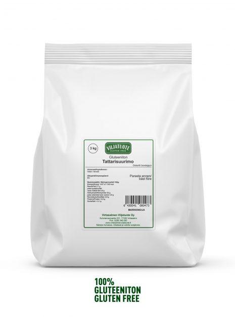 Graines de sarrasin sans gluten, 3 kg