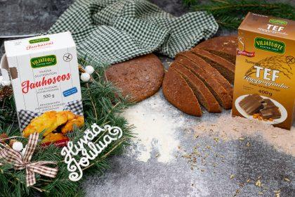 pain de Noël sans gluten