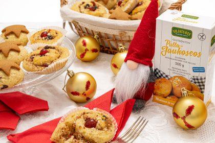 Brioches de Noël sans gluten