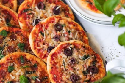 mini pizzas sans gluten