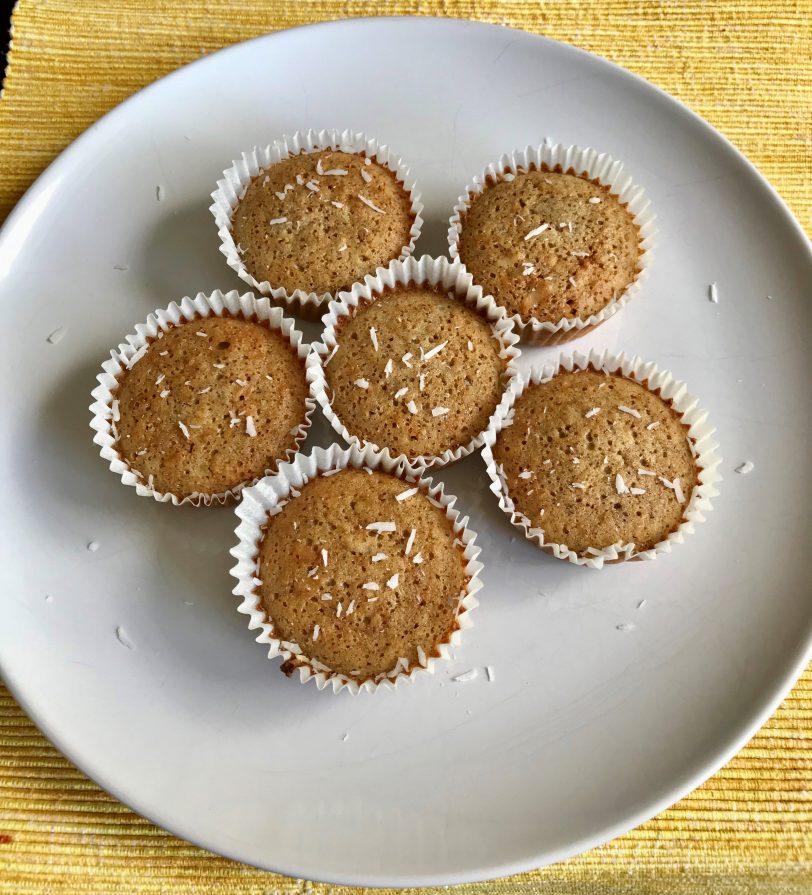 Muffins à la banane sans gluten