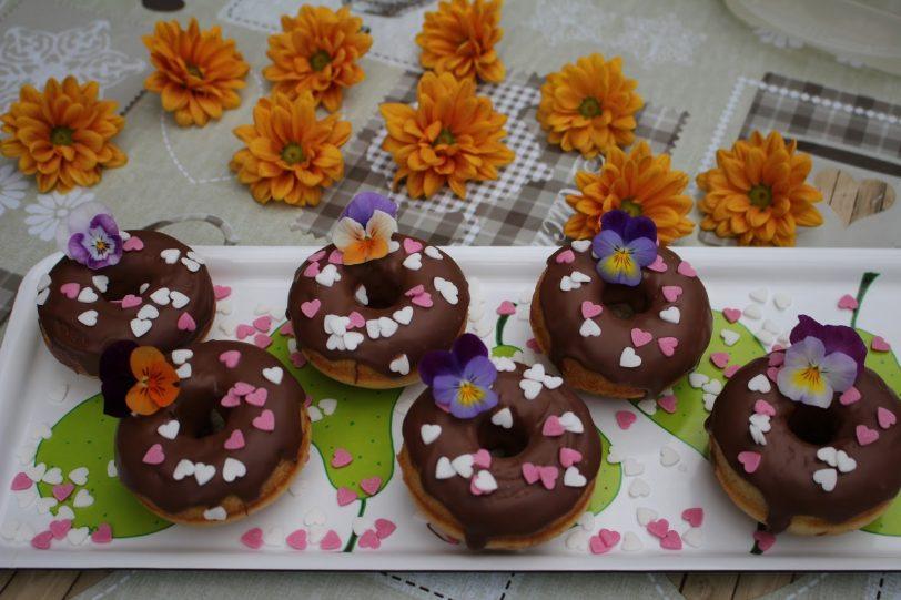 Donuts sans gluten (cuisson au four)