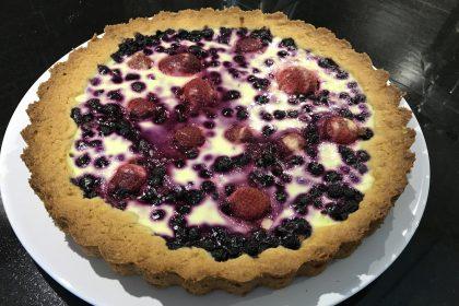 tarte aux myrtilles sans gluten