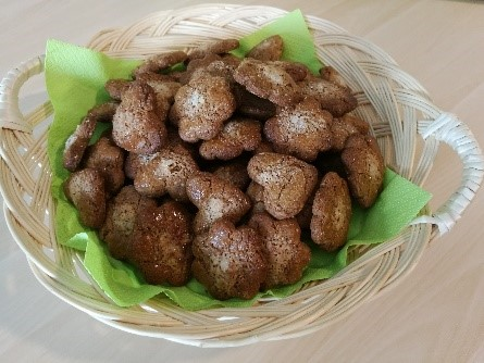 Biscuits à la fève sans gluten