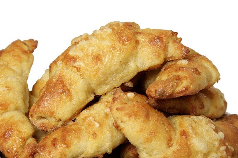 « Croissants » au fromage sans gluten