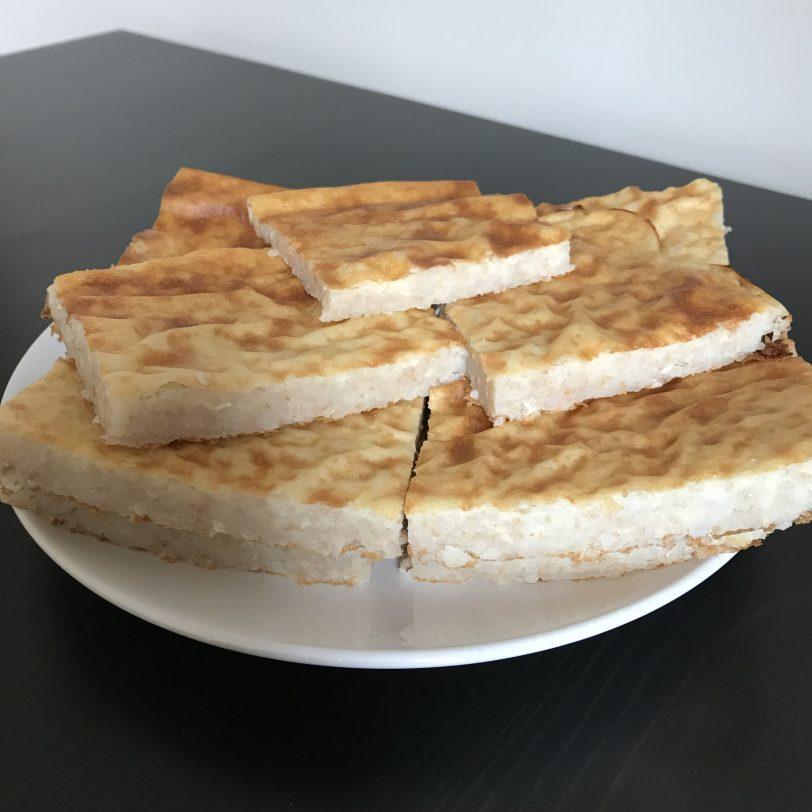 Pain plat au sarrasin sans gluten
