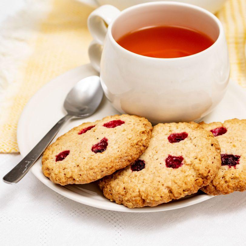Cookies à l'avoine et aux airelles sans gluten