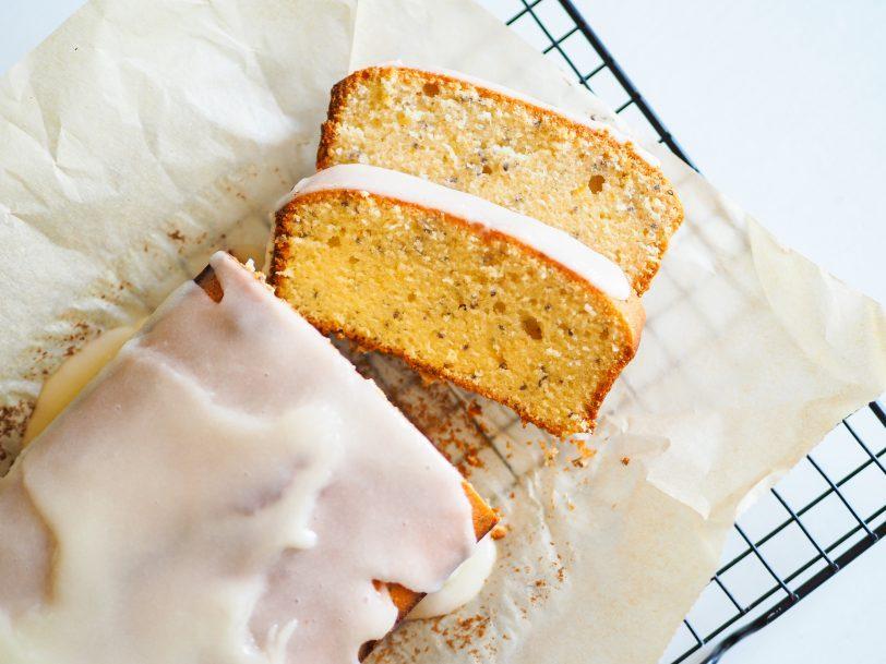 Cake au citron et graines de chia sans gluten