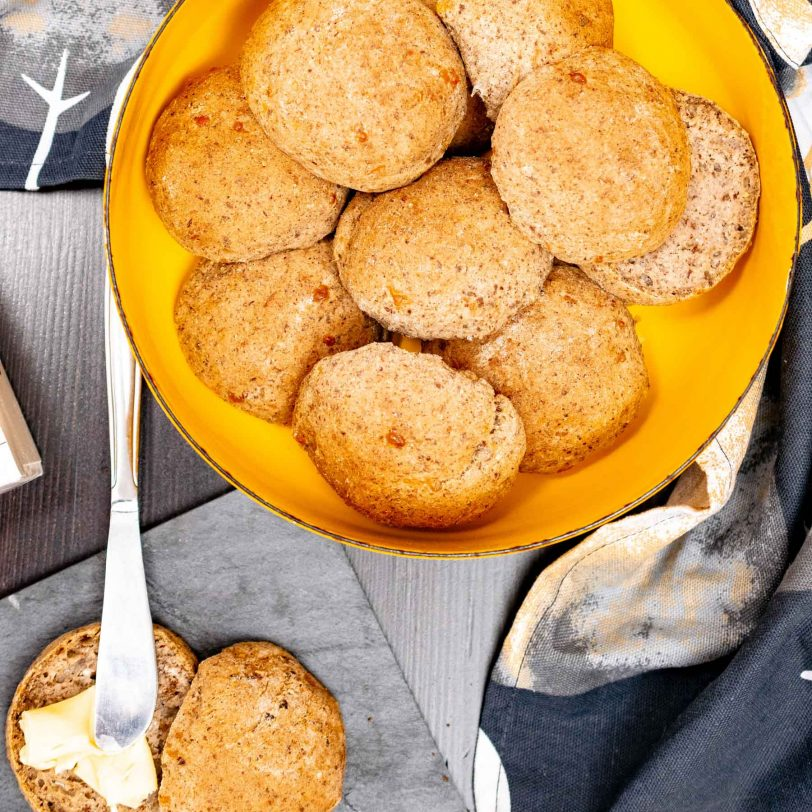 Petits pains au fromage sans gluten (sans levure boulangère)