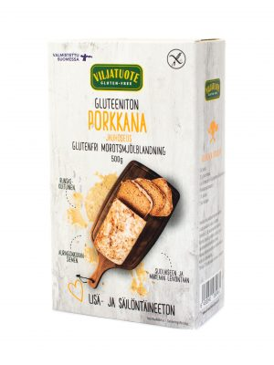 Mix de farine sans gluten avec carottes séchées