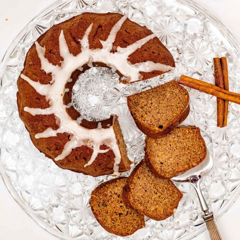 Gâteau au lait fermenté sans gluten (sans oeuf)