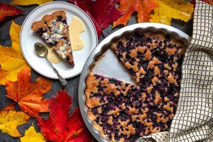 Tarte aux myrtilles sans gluten facile
