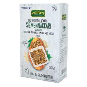 Mix de farine pour pain croquant multi-graines aux orties sans gluten