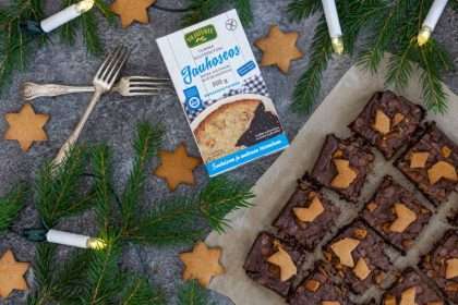 Brownie de Noël sans gluten